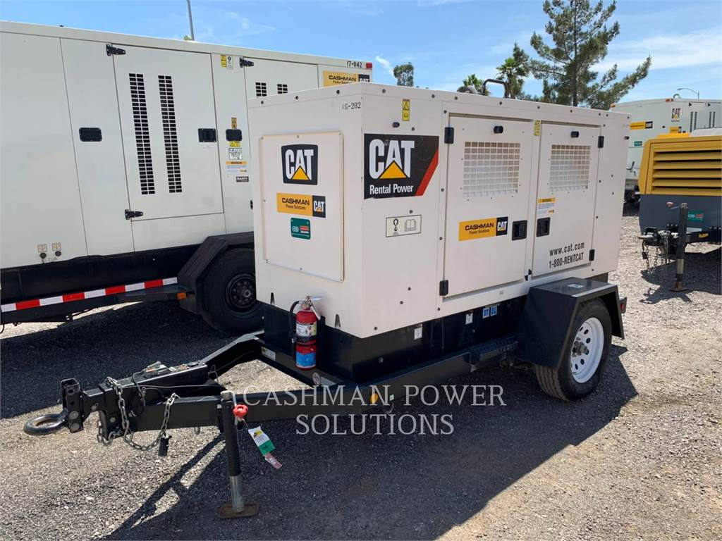 Caterpillar XQ60 T4F, mobile generator sets, Construction