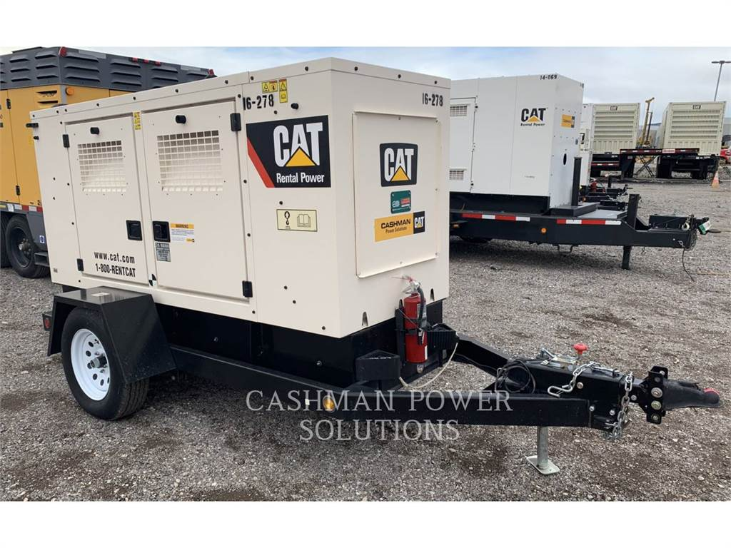Caterpillar XQ60 T4F、租赁发电机组、建筑设备