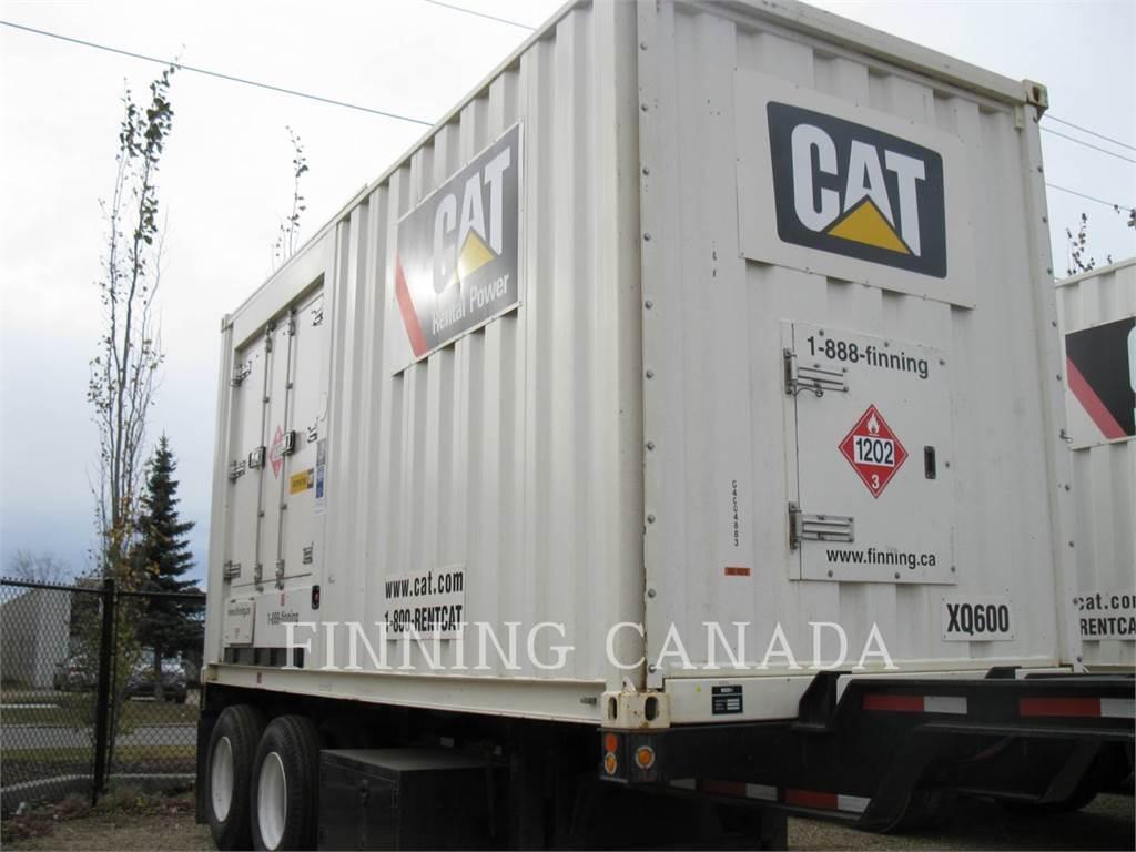 Caterpillar XQ600-600V, mobile generator sets, Construction