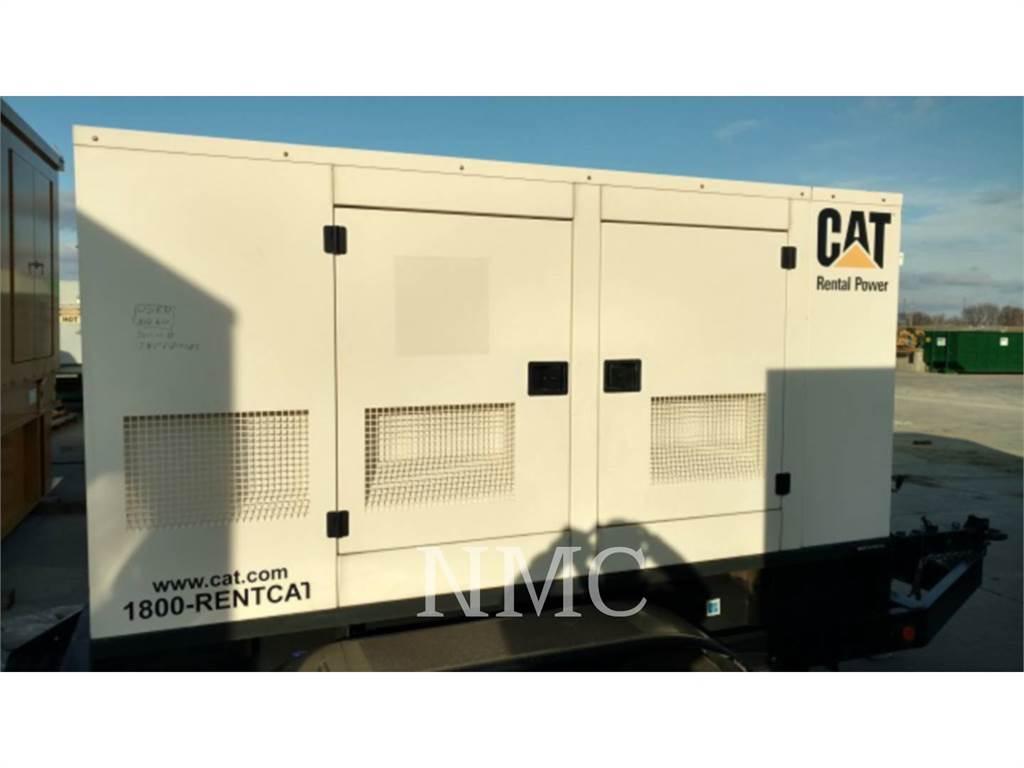 Caterpillar XQ60P2, Stationary Generator Sets, Construction