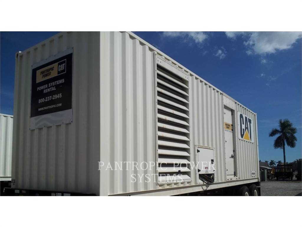 Caterpillar XQ800, mobile generator sets, Construction