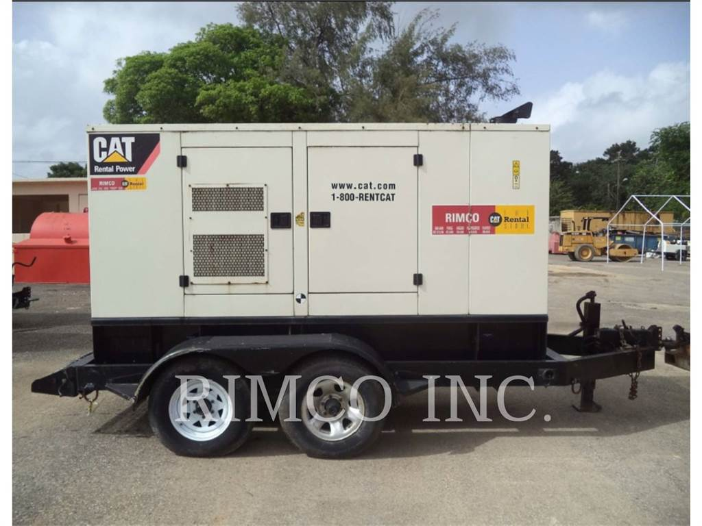 Caterpillar XQ80N, mobile generator sets, Construction
