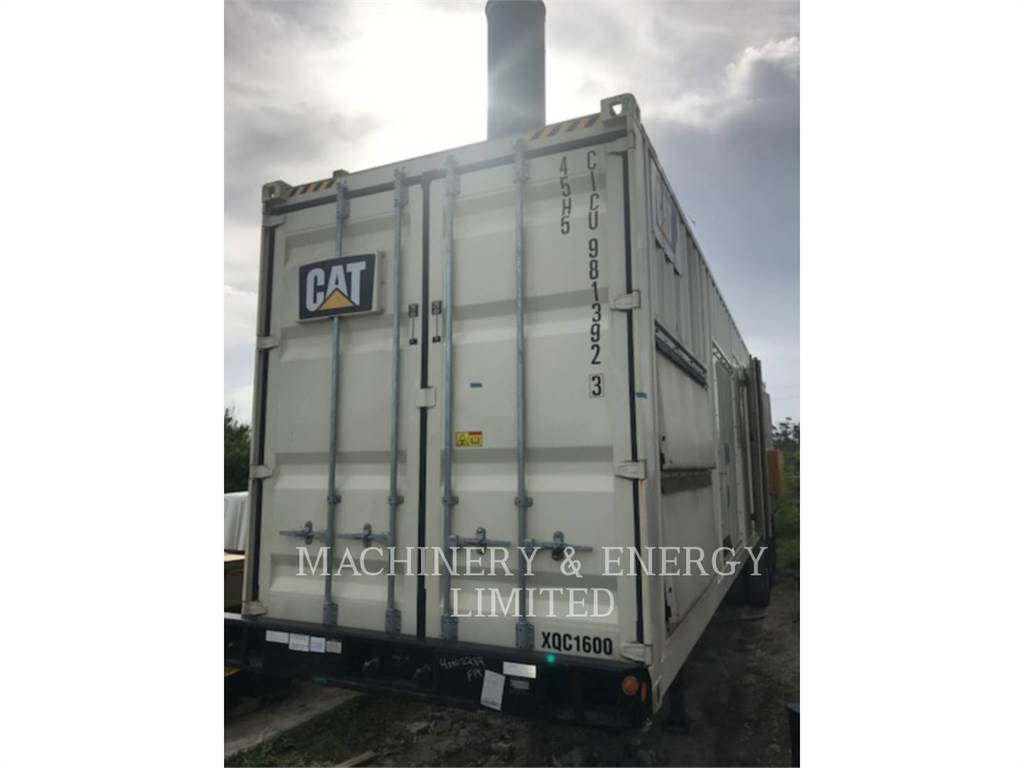 Caterpillar XQC1600, mobile generator sets, Construction