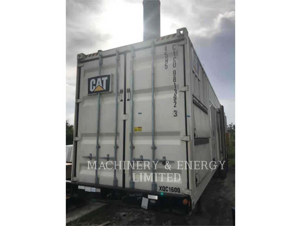 Caterpillar XQC1600, groupes électrogènes mobiles, Équipement De Construction