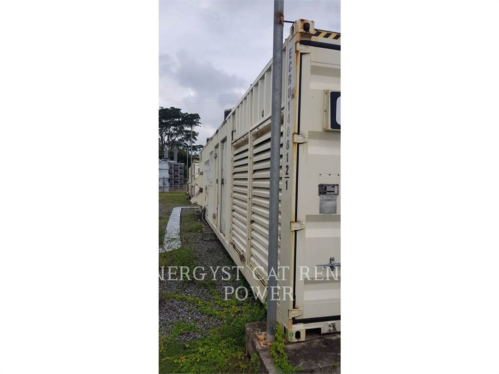 Caterpillar XQC1600, grupos electrógenos móviles, Construcción