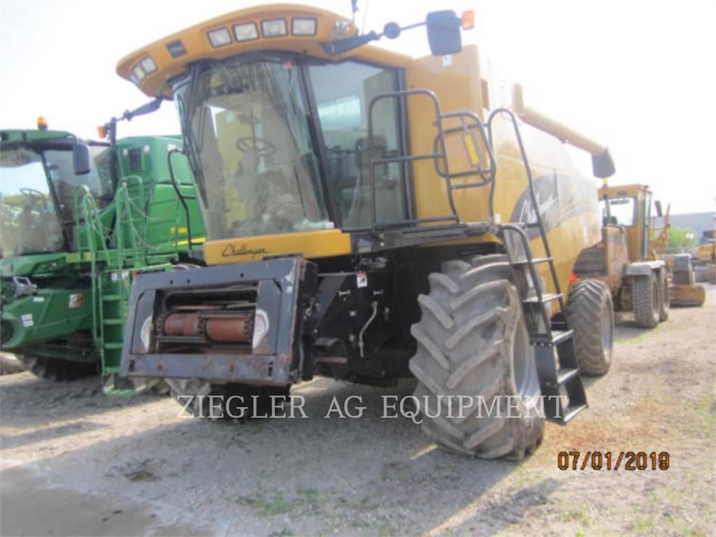 Challenger 660, combinados, Agricultura