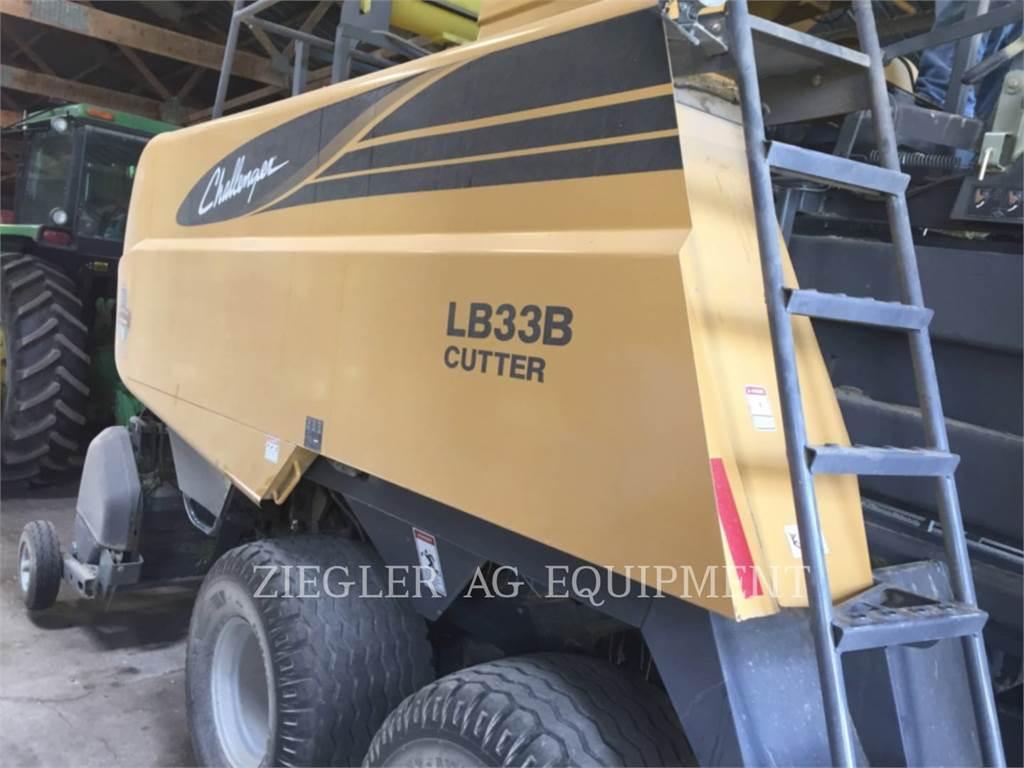 Challenger LB33B, macchine agricole da fieno, Agricoltura