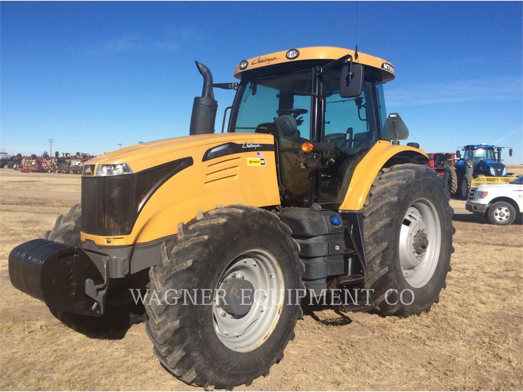 Challenger MT555D, tractores agrícolas, Agricultura