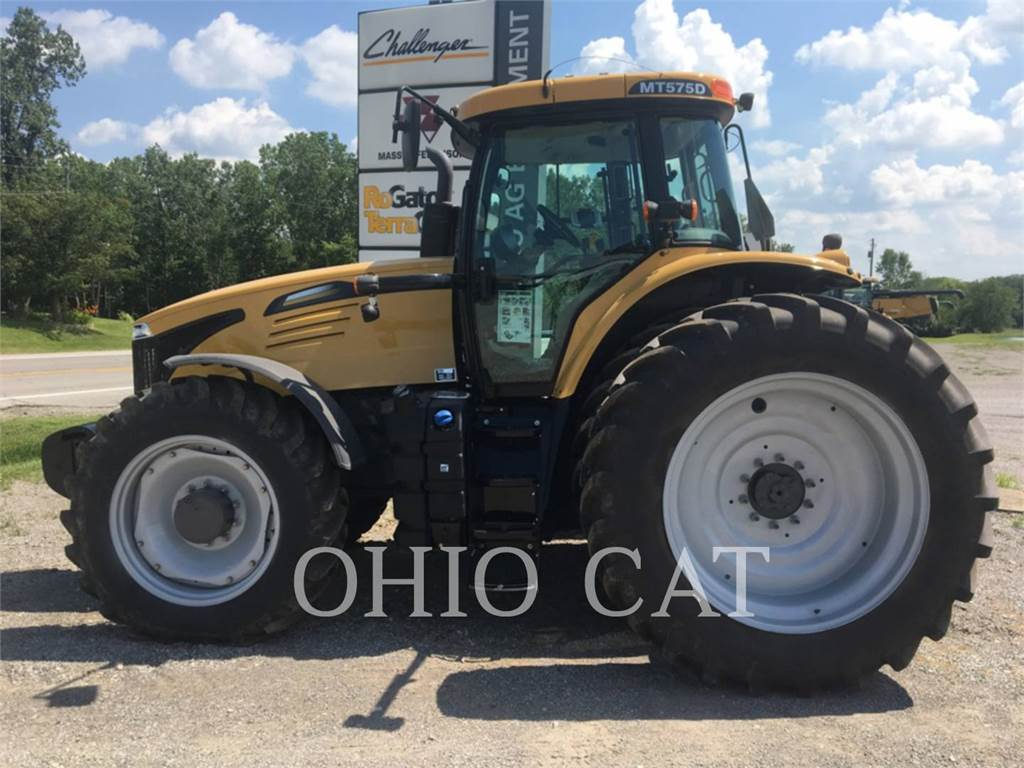 Challenger MT575D, agrarische tractoren, Landbouwmachines