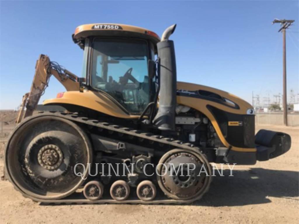 Challenger MT755D, tracteurs agricoles, Agricole