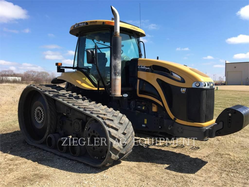 Challenger MT765C, agrarische tractoren, Landbouwmachines