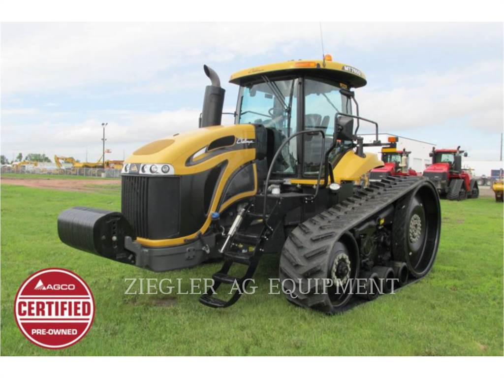 Challenger MT765D, tractores agrícolas, Agricultura