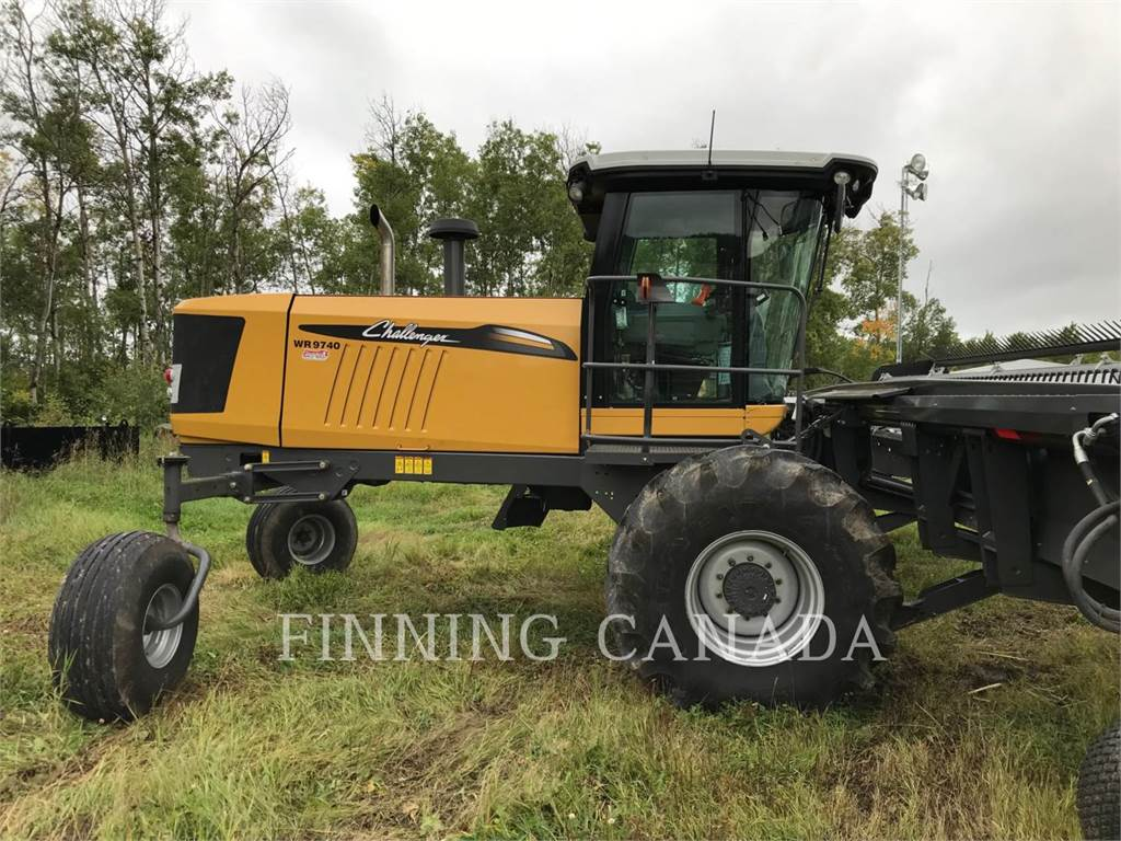 Challenger WR9740, windrowers, Agriculture