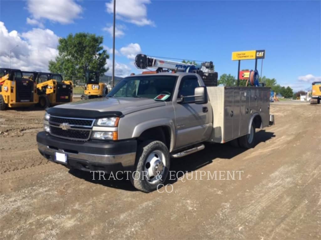 Chevrolet K3500, on highway trucks, Transport