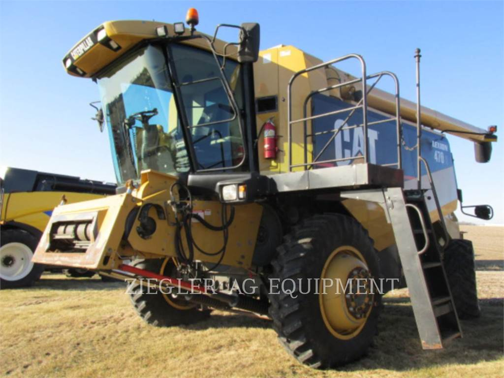 Claas 470R, combines, Agriculture