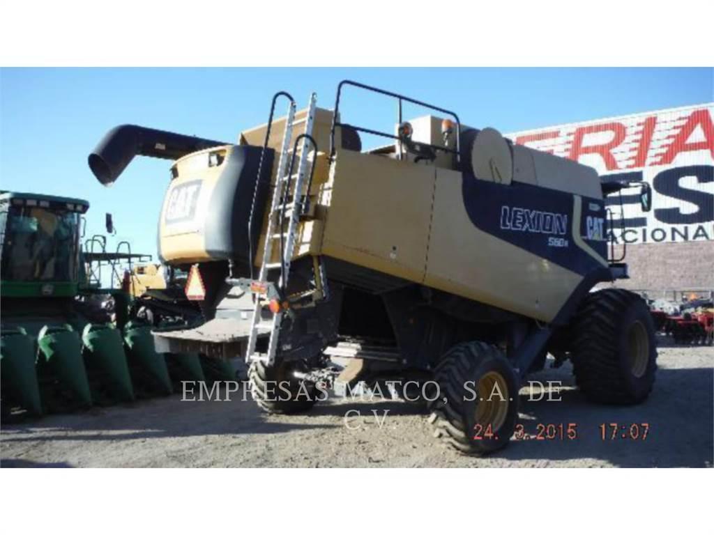 Claas 560R, kombajny, Maszyny rolnicze