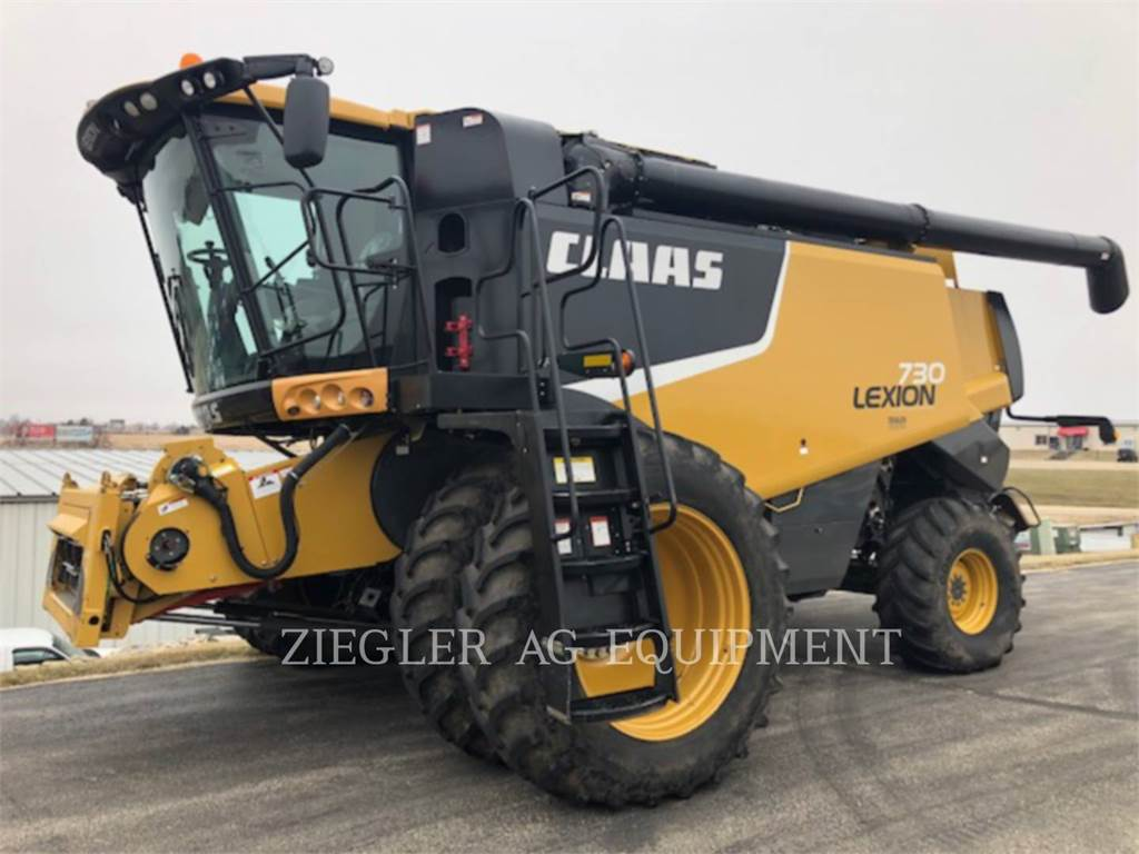 Claas 730、联合收割机、农业机械
