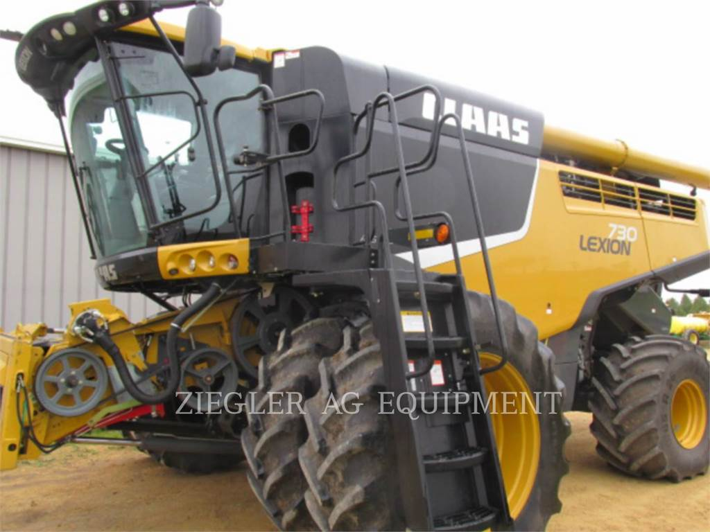 Claas 730, combines, Agriculture