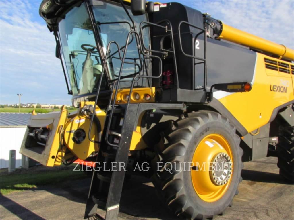 Claas 740, combines, Landbouwmachines