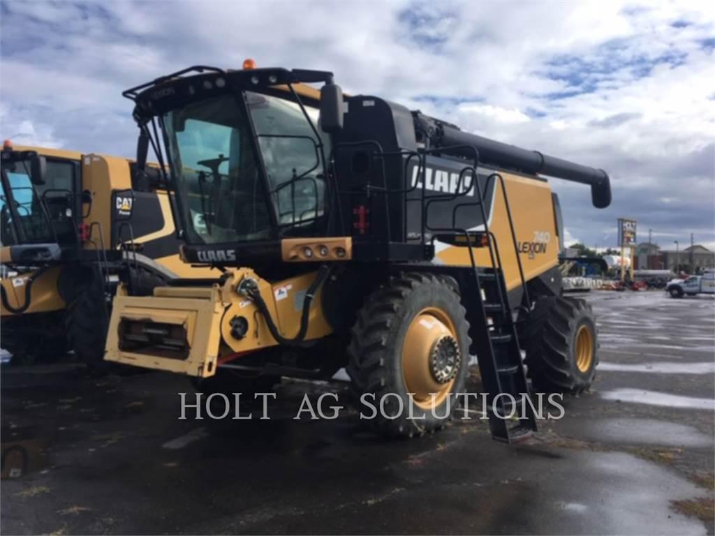 Claas 740, combinazioni, Agricoltura