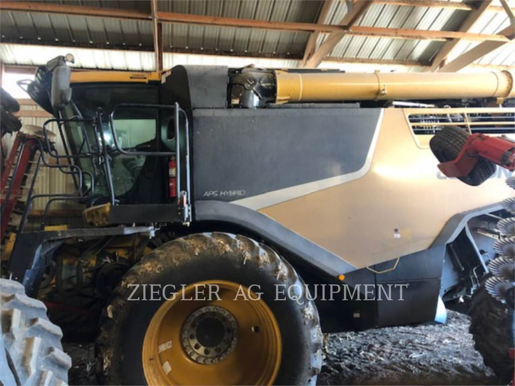 Claas 740_LX, combines, Agriculture