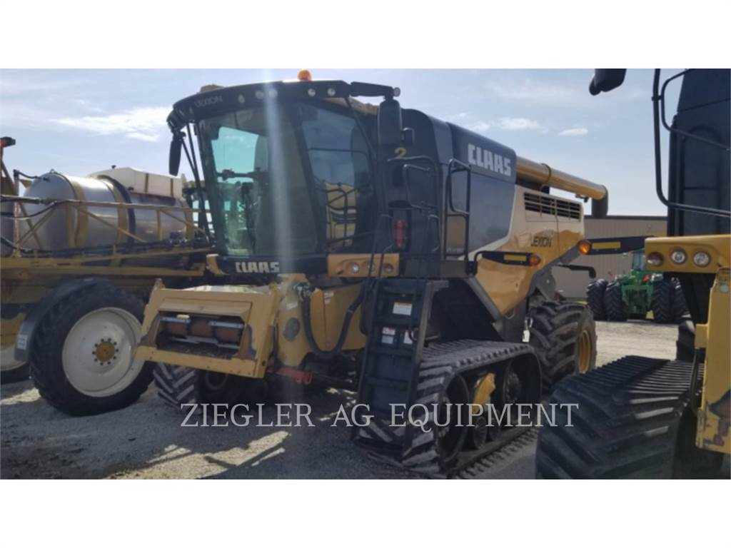 Claas 740TT, combines, Agriculture