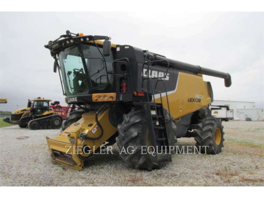 Claas 740W, mähdrescher, Landmaschinen