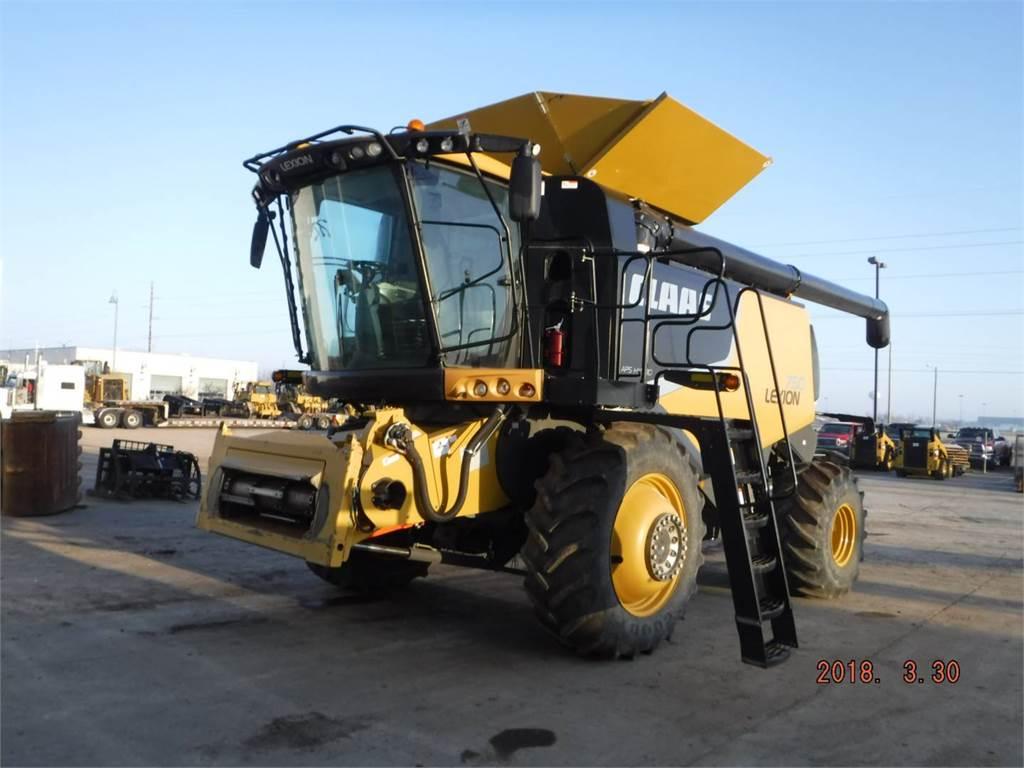 Claas 750, mähdrescher, Landmaschinen