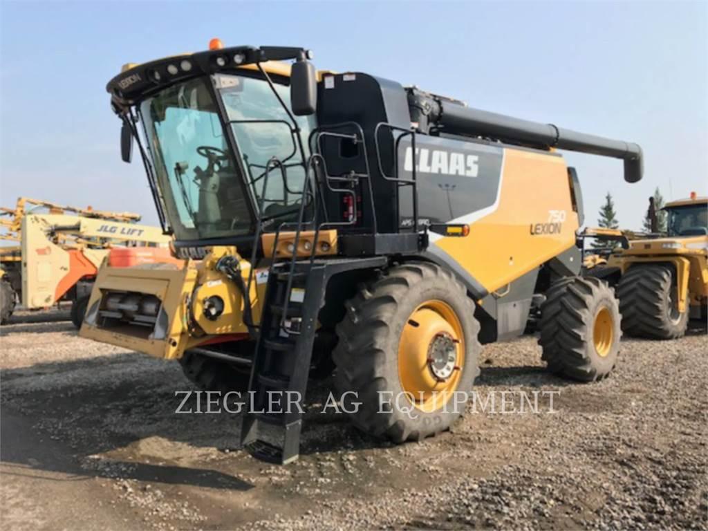 Claas 750, combines, Landbouwmachines
