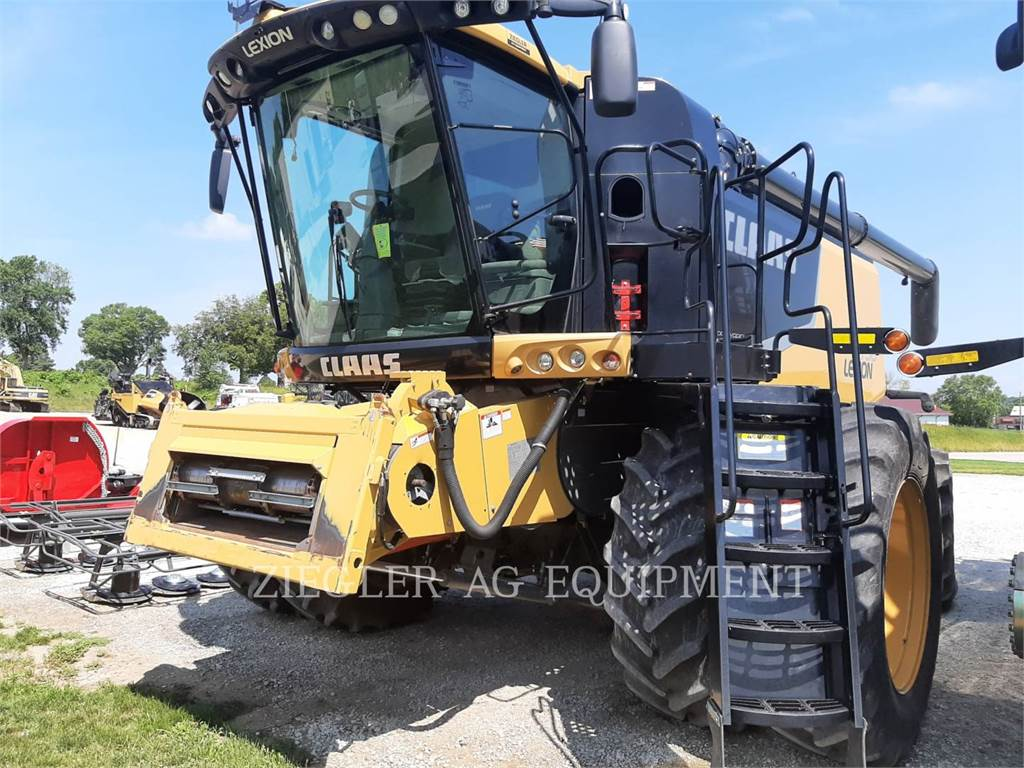 Claas 750_LX, combines, Agriculture