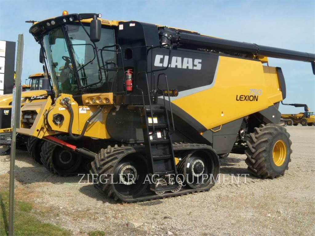 Claas 750TT, combinés, Agricole