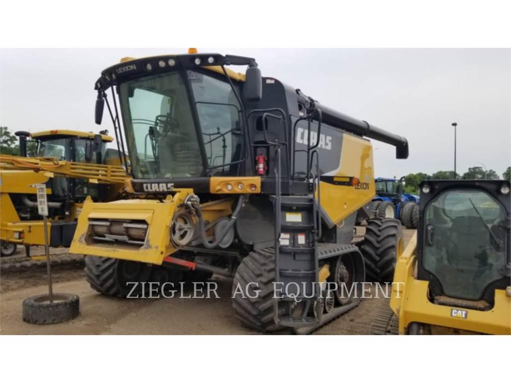 Claas 750TTHS, combinados, Agricultura