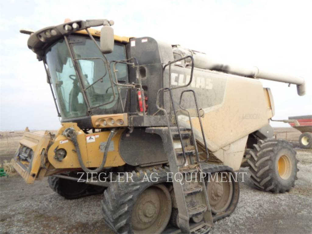 Claas 750TTHS, combines, Agriculture