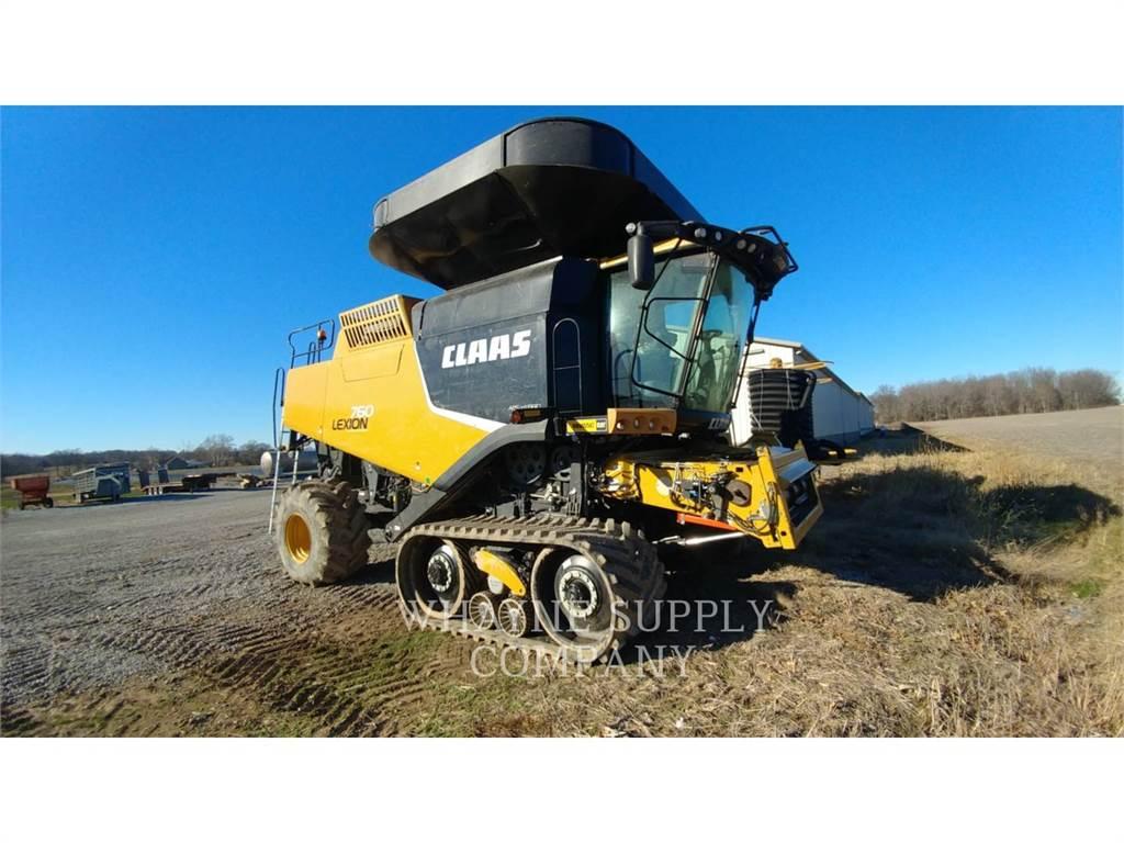Claas 760TT, mähdrescher, Landmaschinen