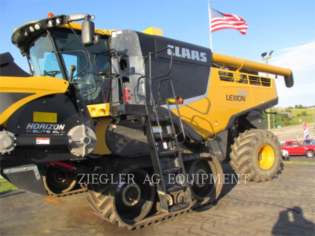 Claas 760TT, combines, Agriculture