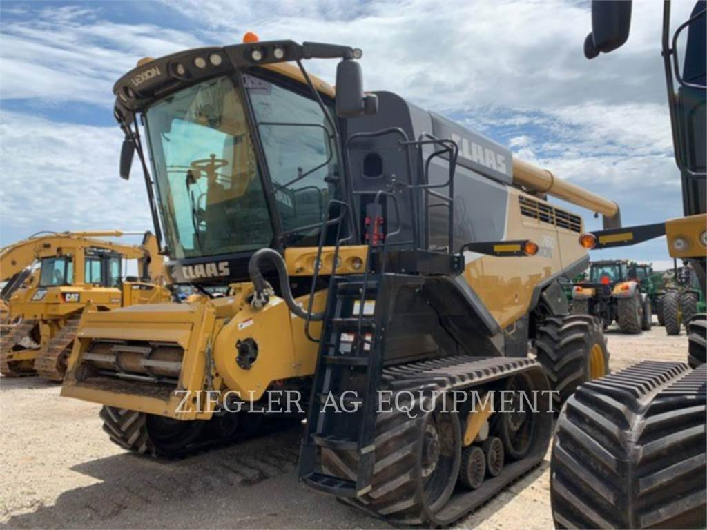 Claas 760TT, combinados, Agricultura