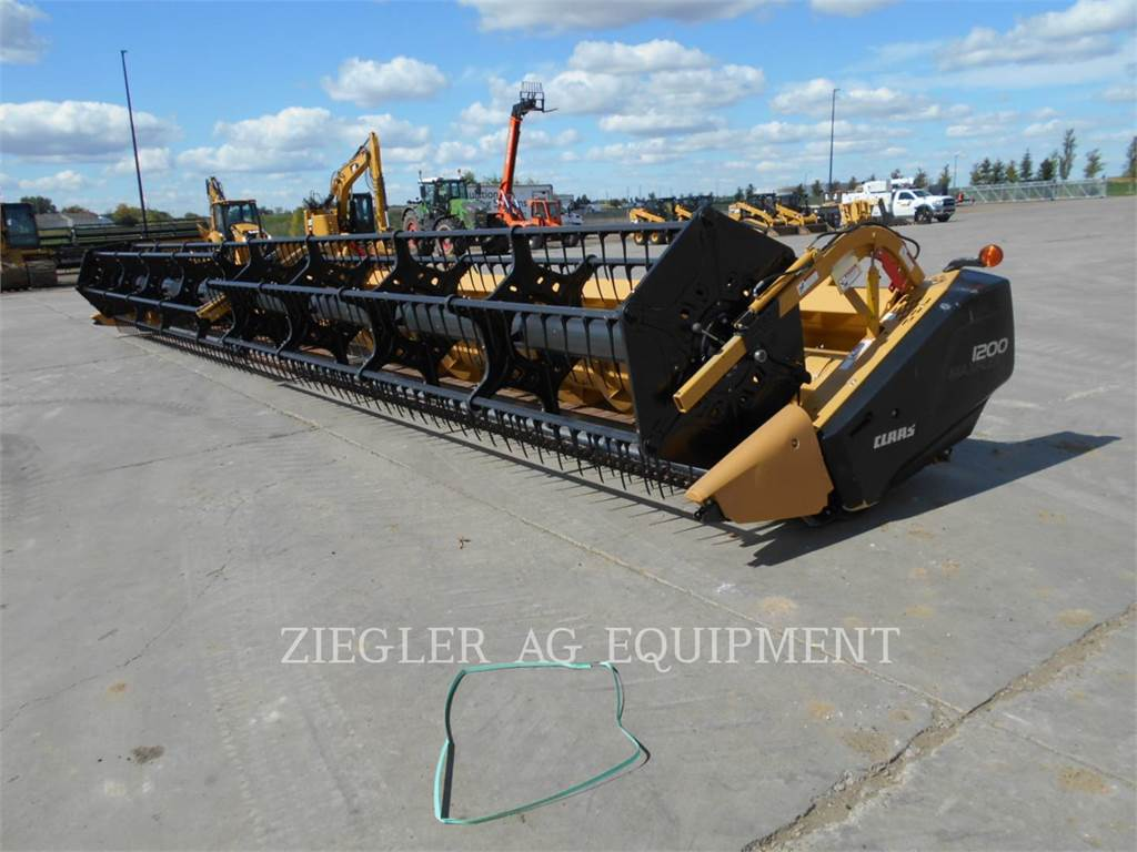 Claas F1200, auger, Construction