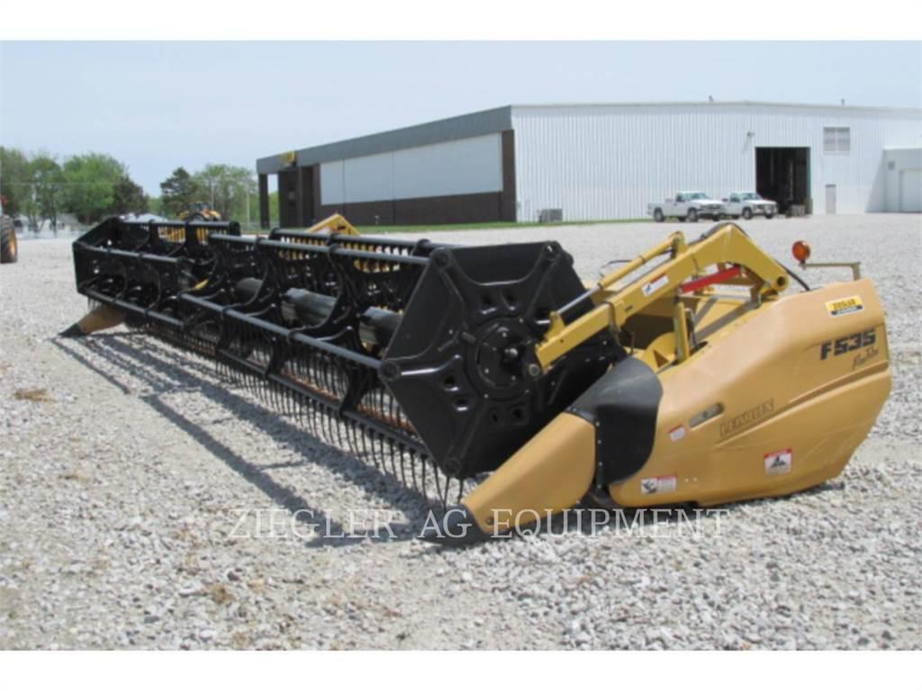 Claas F535, Accesorios para cosechadoras combinadas, Agricultura