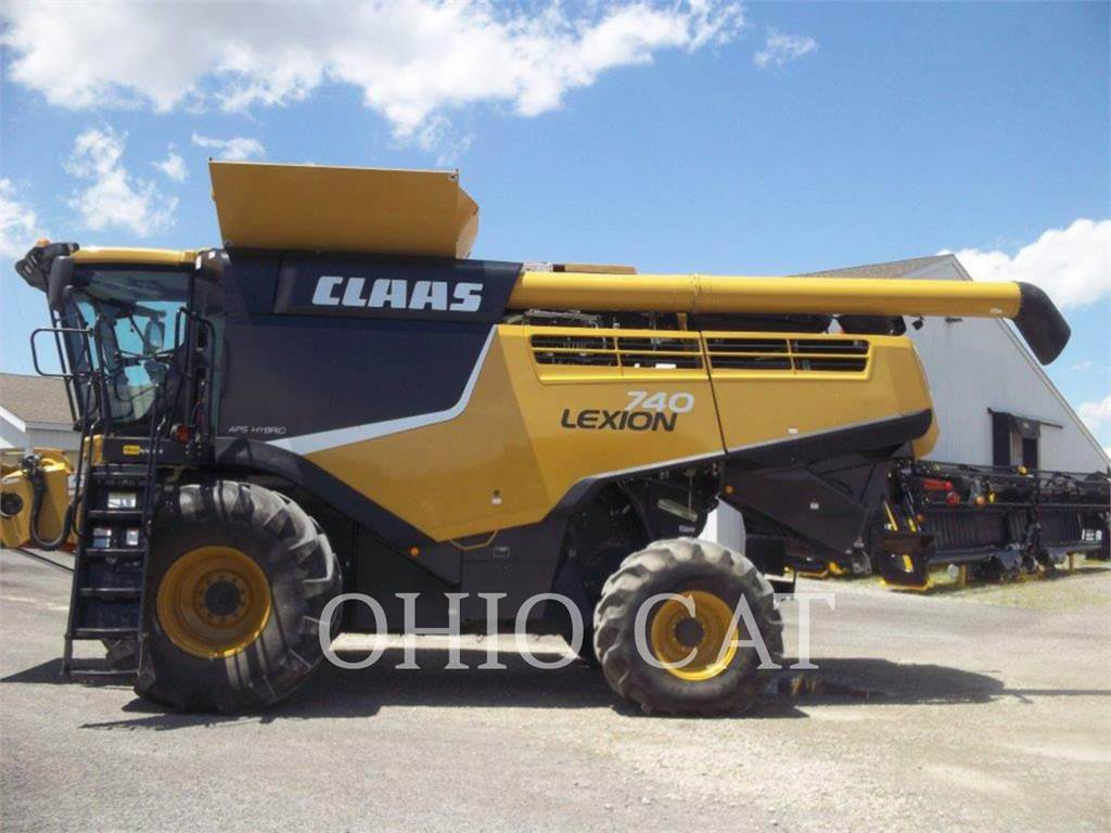 Claas LEX740, combines, Agriculture