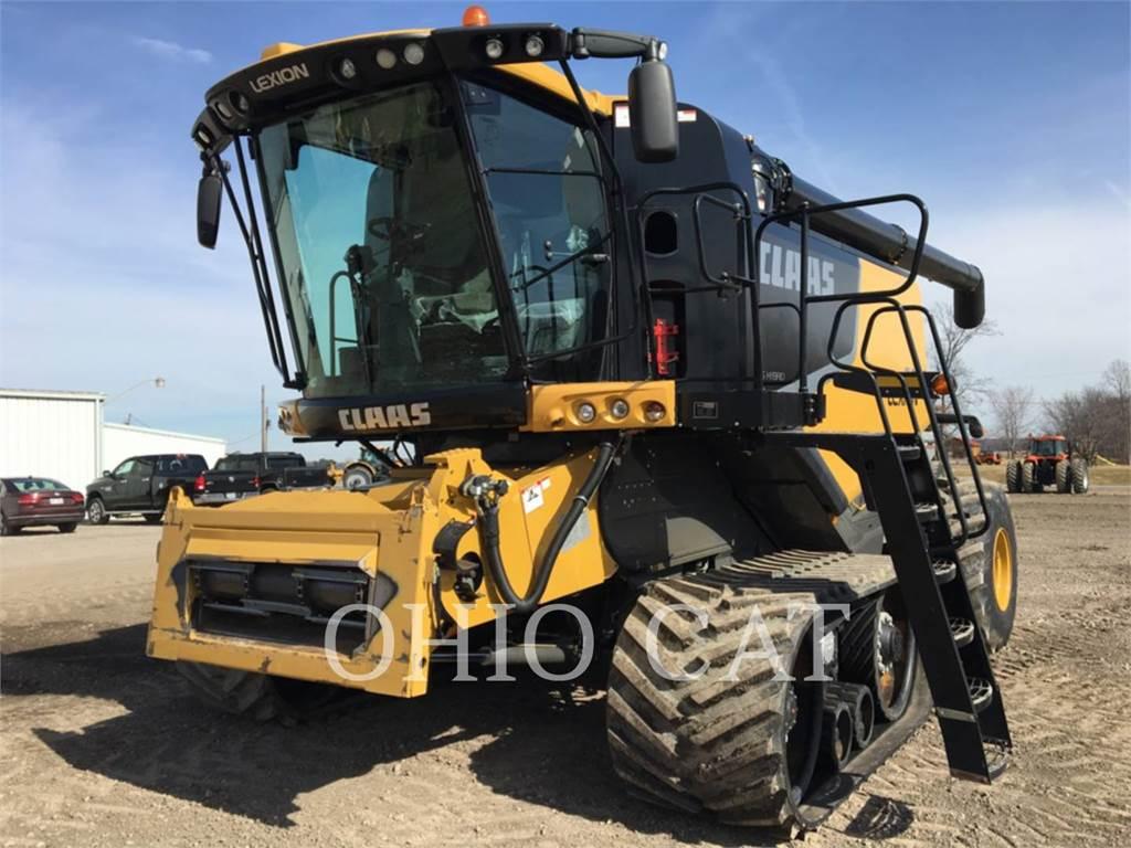 Claas LEX740TT, combines, Agriculture