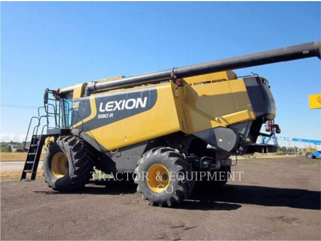Claas LX580R, combines, Agriculture