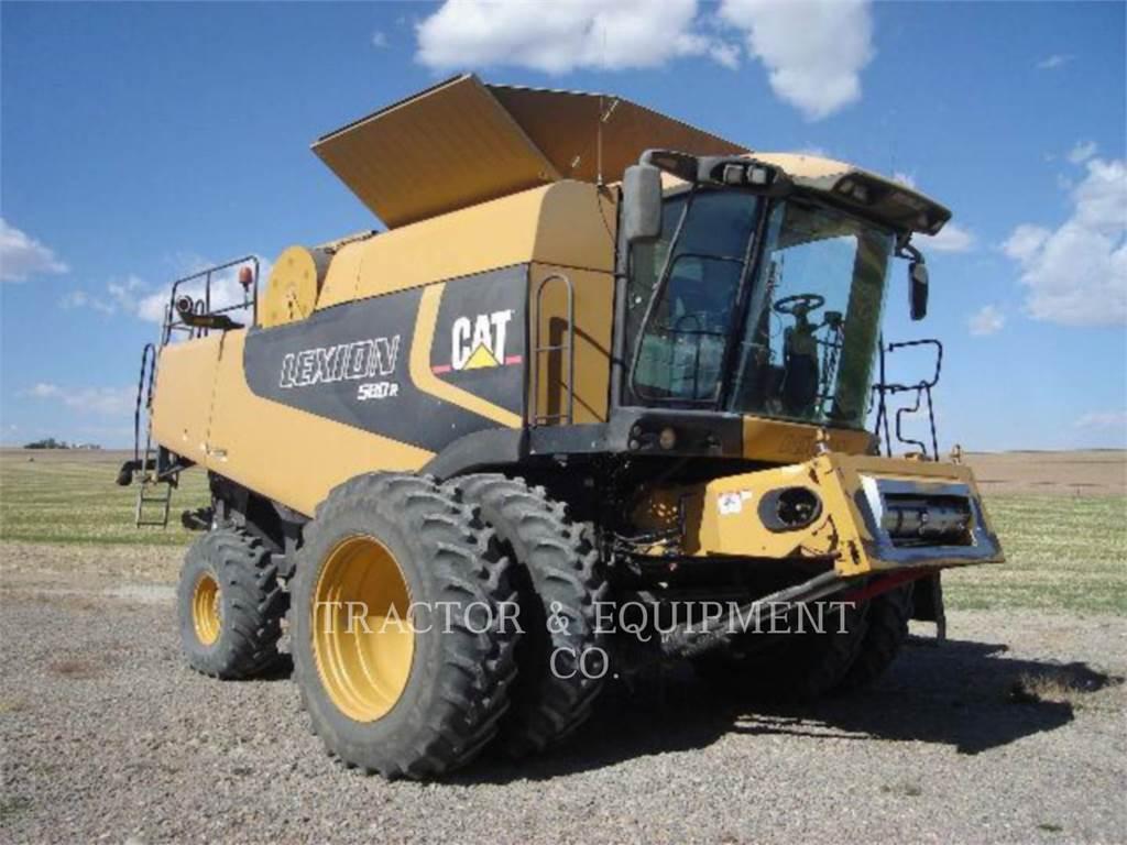 Claas LX580R, combinados, Agricultura