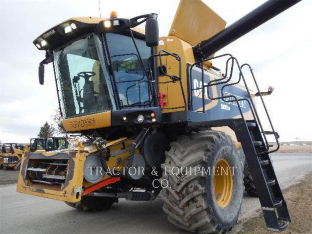 Claas LX580R, combinés, Agricole
