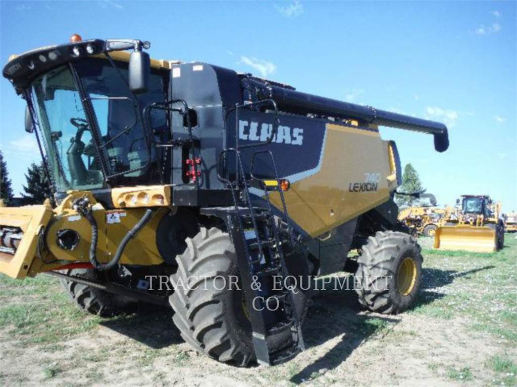 Claas LX740, combines, Agriculture