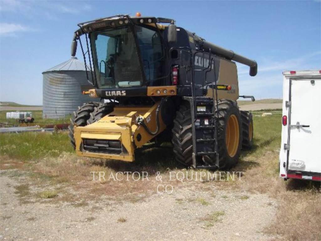 Claas LX750、コンバイン、農業