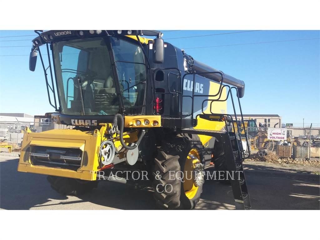 Claas LX750, combinados, Agricultura
