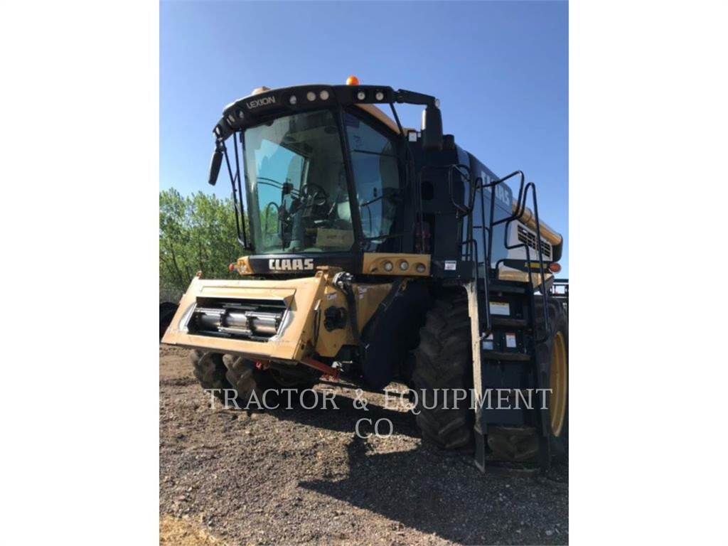 Claas LX750, kombajny, Maszyny rolnicze