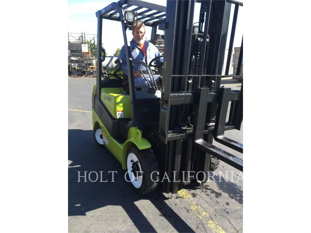 Clark C25C, Misc Forklifts, Material Handling