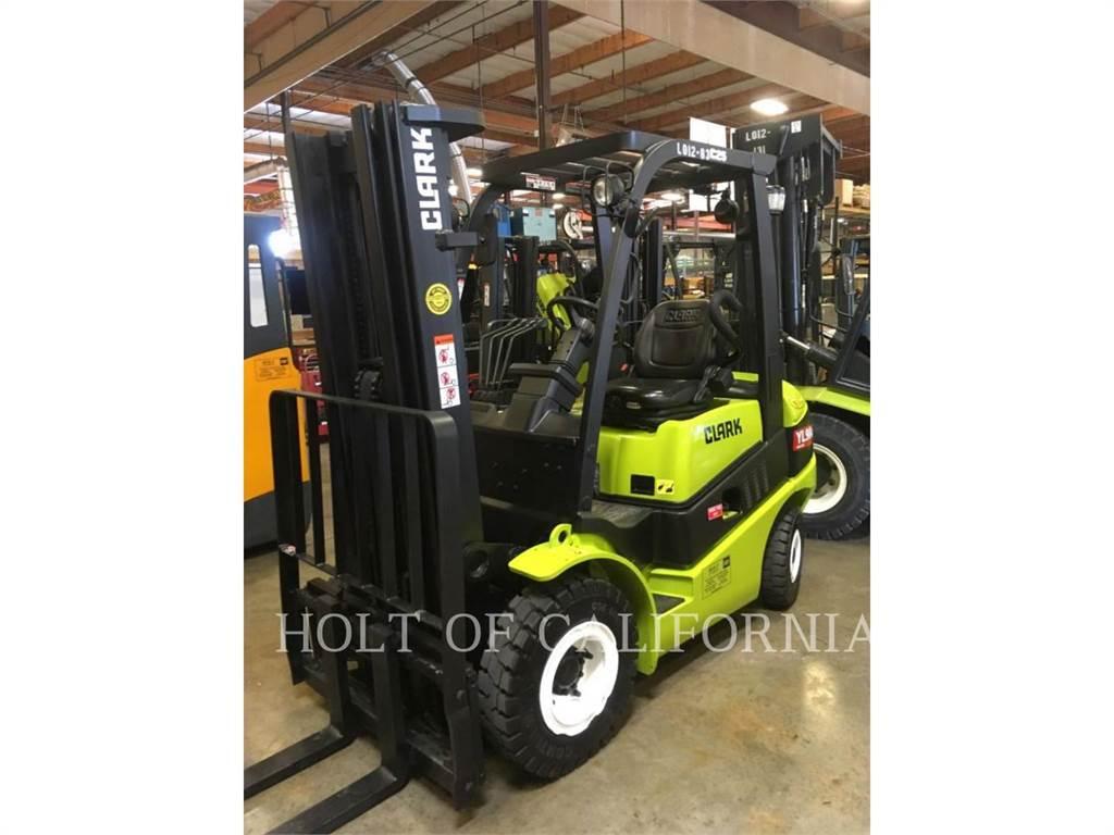 Clark C25D, Diesel Forklifts, Material Handling