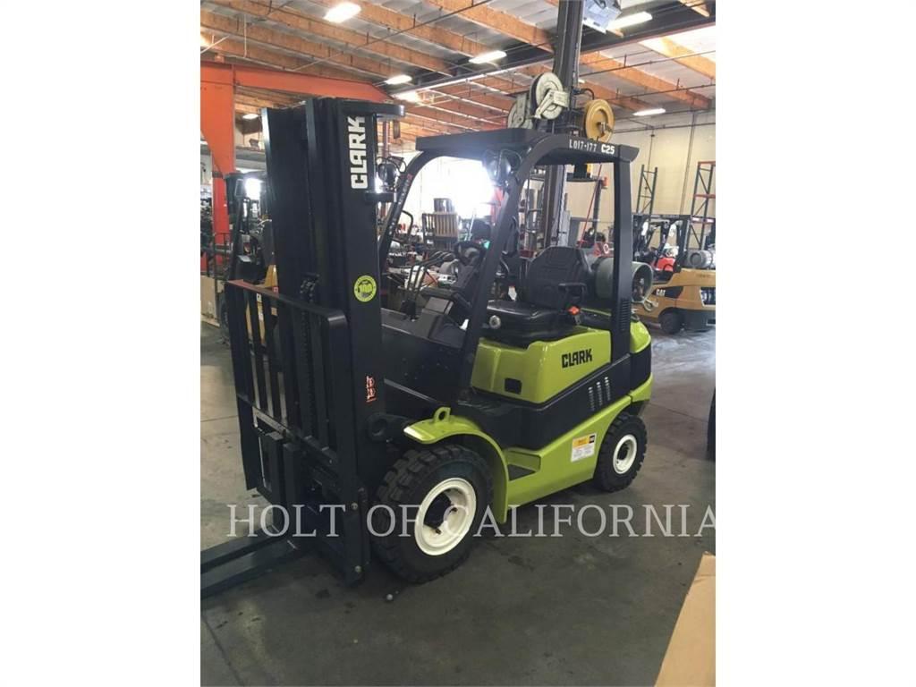 Clark C25L, Misc Forklifts, Material Handling